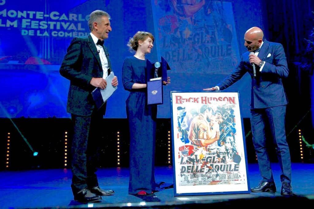 Il Premio Arte e Cinema a Montecarlo